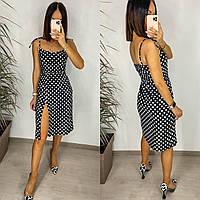 Платье женское в горох 82666