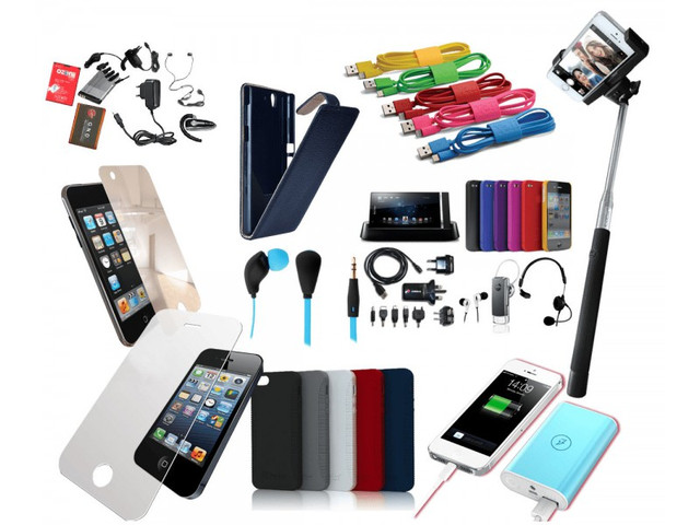Комплектуючі та аксесуари для смартфонів