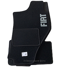 Килимки в салон ворсові AVTM для Fiat 500L (2012-)/ Фіат 500Л /Чорні 5шт BLCCR1133
