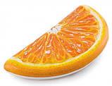 Пляжний Надувний Матрац для Плавання та Відпочинку Апельсин 178 х 85 см Лежак у Вигляді Часточки Апельсина TOP, фото 2