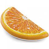 Пляжний Надувний Матрац для Плавання та Відпочинку Апельсин 178 х 85 см Лежак у Вигляді Часточки Апельсина TOP, фото 3