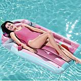 Пляжный надувной матрас Bestway 44037 «Коктейль», 190 х 99 см (hub_p4z4jy), фото 3