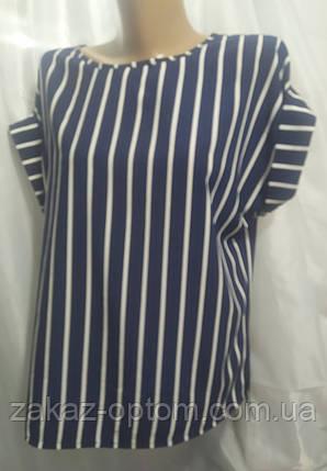 Блуза женская софт (48-54) Украина оптом-74321, фото 2