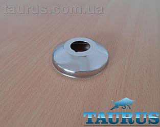 """Декоративний фланець конусний Chrome D64 мм х висота 18 мм, внутрішній розмір 1/2"""" (20 мм). Латунь ThermoPulse"""