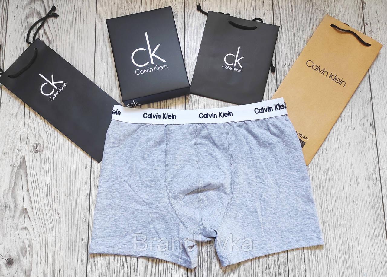 Набор мужских трусов боксеров Calvin Klein 5 шт без коробки Боксеры трусы шорты транки кельвин кляйн - фото 4