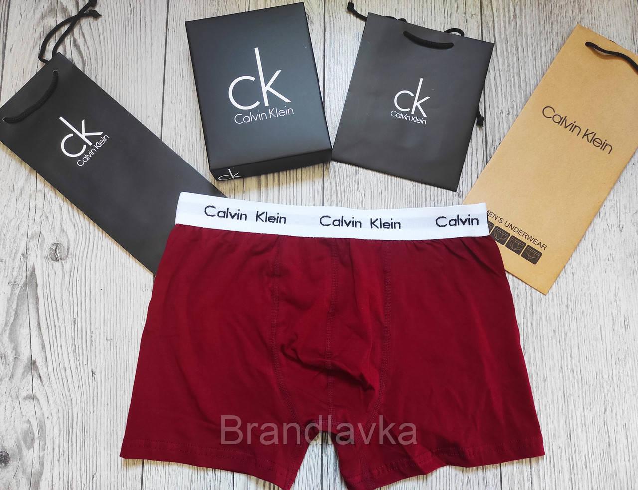 Набор мужских трусов боксеров Calvin Klein 5 шт без коробки Боксеры трусы шорты транки кельвин кляйн - фото 8