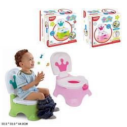 Детский горшок - кресло с короной муз