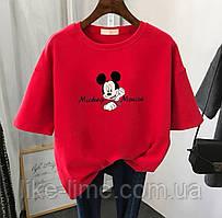 Молодёжная женская футболка с принтом Mickey Mouse