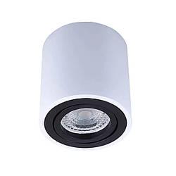 Точечный светильник MJ-Light LACK R WH+BK 12003