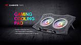 Охолоджуюча підставка для ноутбука з USB + підсвітка RGB, фото 2