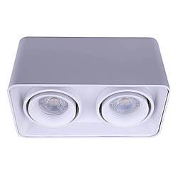 Точечный светильник MJ-Light CUBE 2 WH 12007