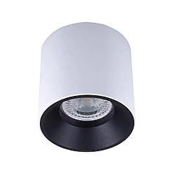 Точечный светильник MJ-Light JACK WH+BK 12008