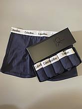 Трусы мужские боксеры Calvin Klein 4 шт набор без подарочной упаковки трусы чоловічі труси боксери L