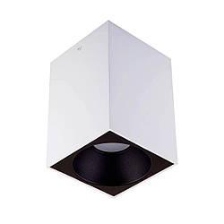 Точечный светильник MJ-Light 8001S WH + 3001S BK