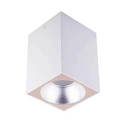 Точечный светильник MJ-Light 8001S WH + 3001S SS