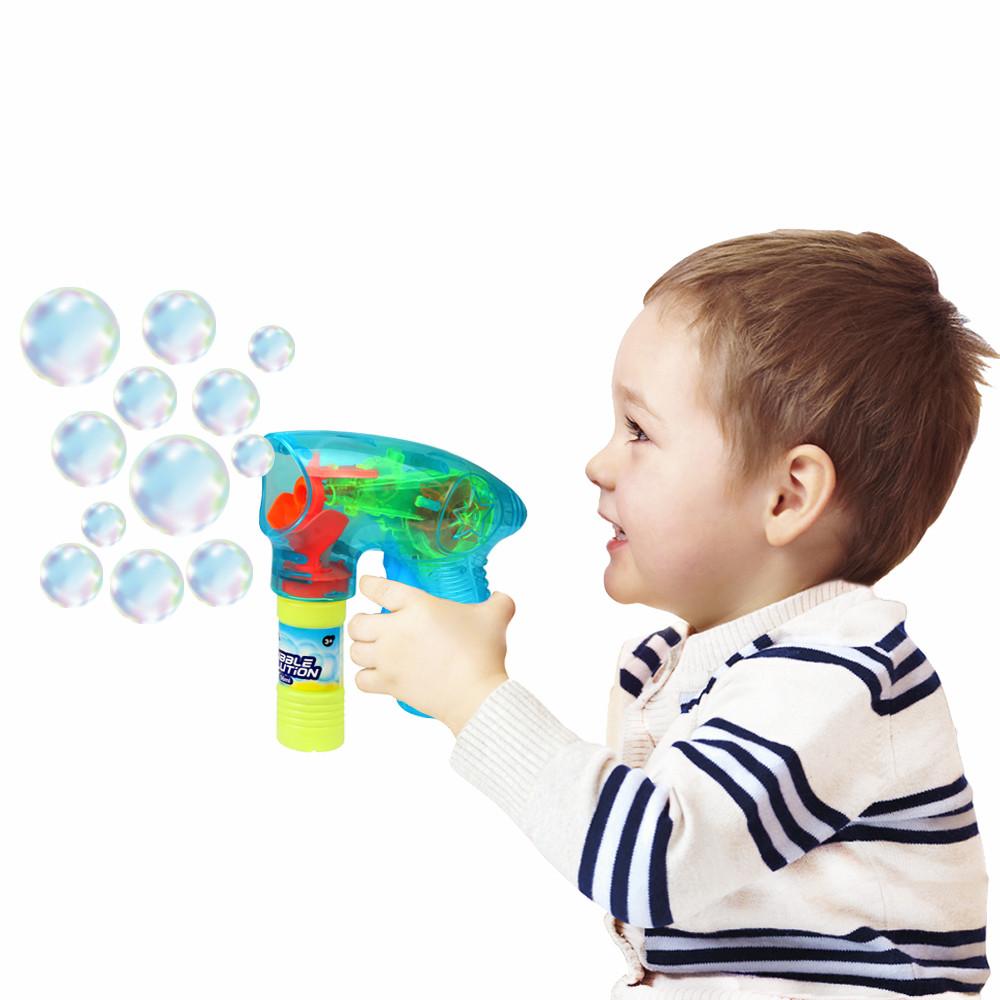 """Мильні бульбашки """"Прозорий мылемет"""", 56 мл, синій"""