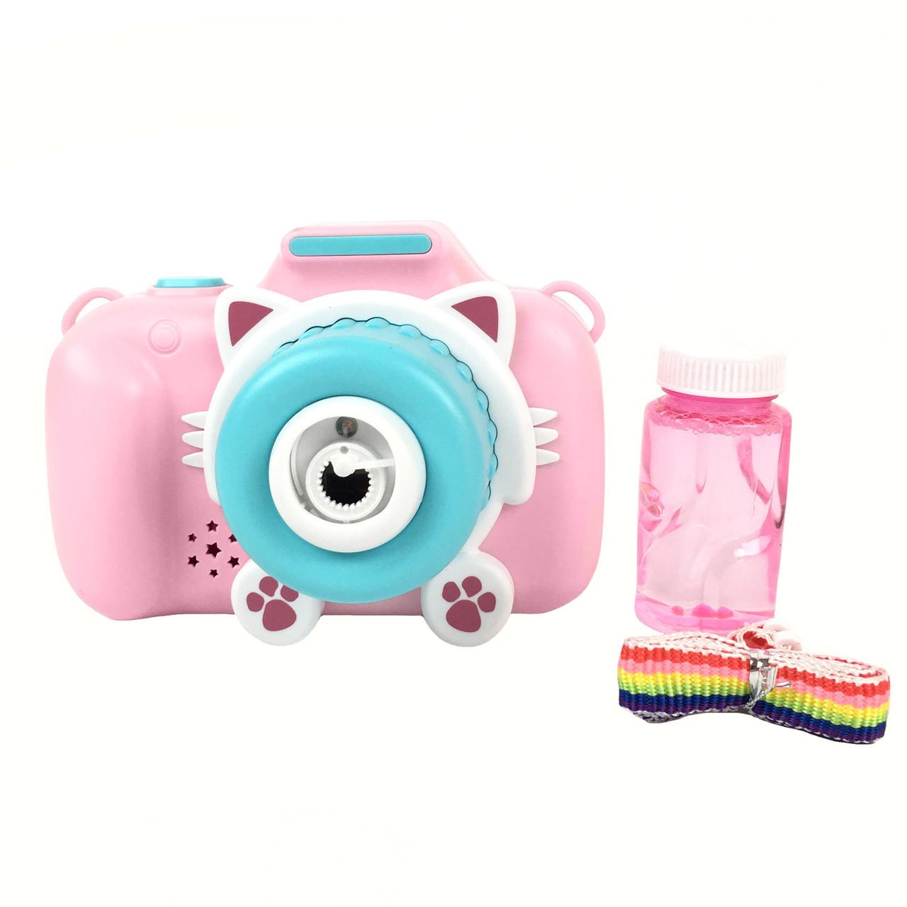 """Мыльные пузыри """"Баббл Камера"""", 50 мл, розовый"""