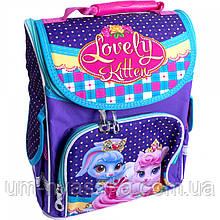 Ортопедический школьный рюкзак с птичками рюкзак-коробка SMILE