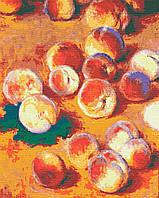 Картина за номерами Персики  Клод Моне, 40*50 см, без коробки RB