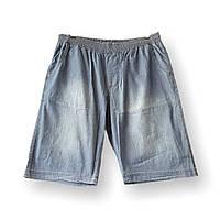 Мужские джинсовые шорты Olser 17036 6-13XL синие большие размеры батал Турция, фото 1