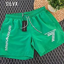 Мужские шорты, р-р С; М; Л; ХЛ; ХХЛ (зелёный)