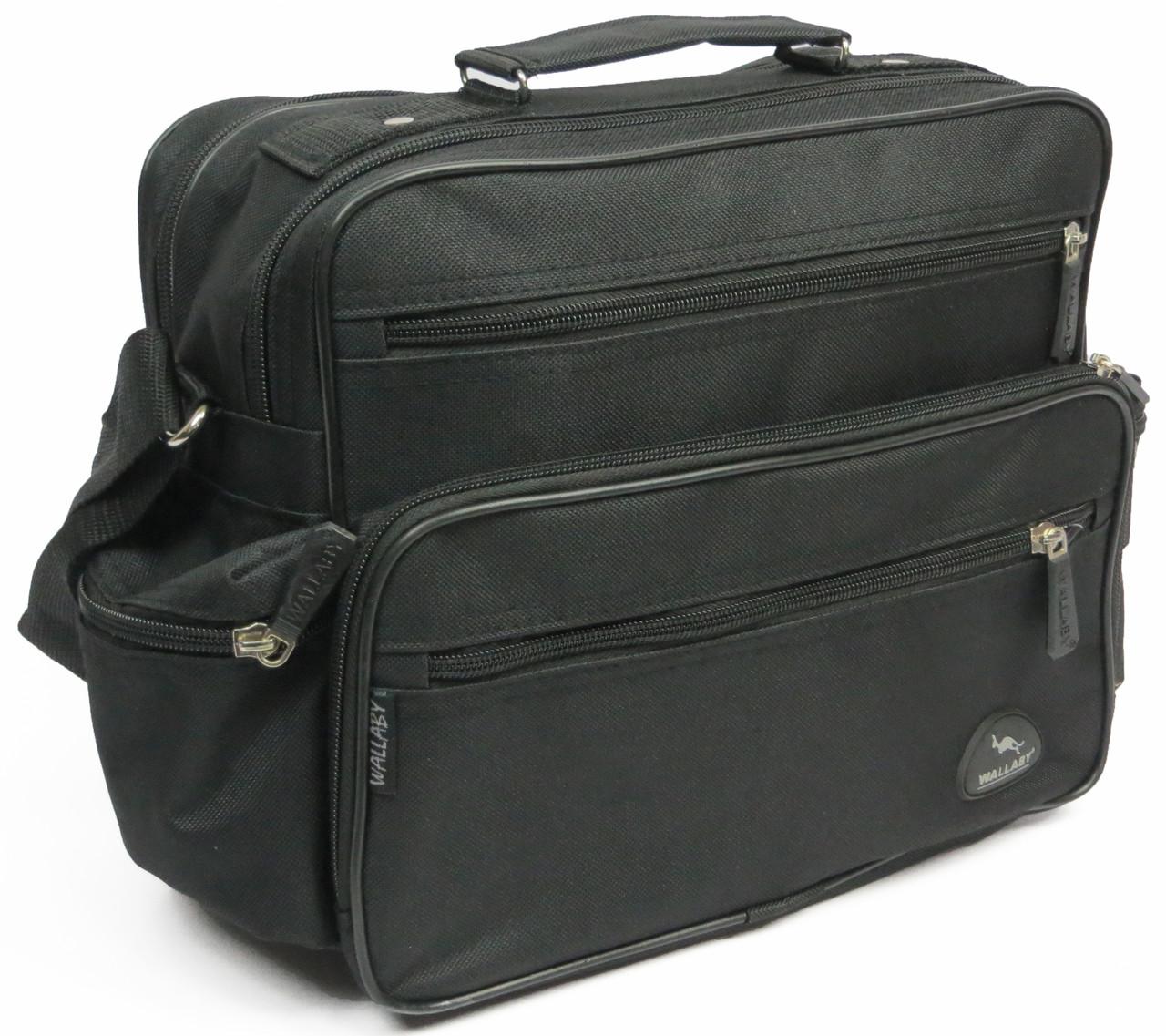 Практична чоловіча сумка Wallaby 2440 чорний