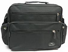 Практична чоловіча сумка Wallaby 2440 чорний, фото 3