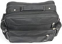 Практична чоловіча сумка Wallaby 2440 чорний, фото 2