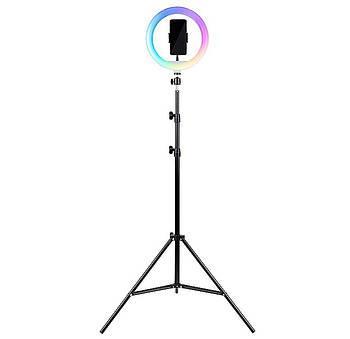 Набор Трипод для смартфонов + светодиодное кольцо RGB HAVIT