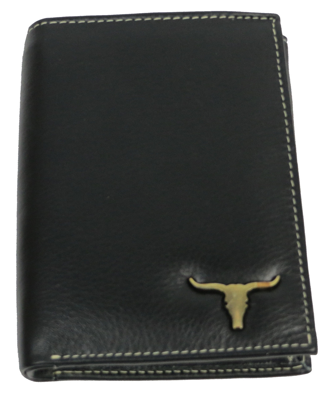 Мужское кожаное портмоне ALWAYS WILD SRM04BAW3 черный
