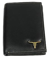 Мужское кожаное портмоне ALWAYS WILD SRM04BAW3 черный, фото 2
