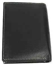 Мужское кожаное портмоне ALWAYS WILD SRM04BAW3 черный, фото 3