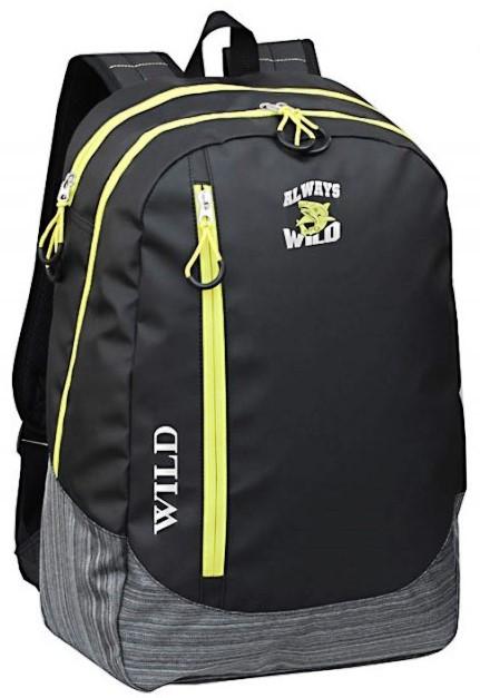 Рюкзак міський 20 л Always Wild SSNG44 чорний