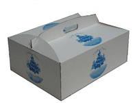 Упаковка для пирожных с нанесением логотипа