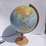 Глобус политический 320 мм, с подсветкой, укр.яз., пр-во Польша, фото 2