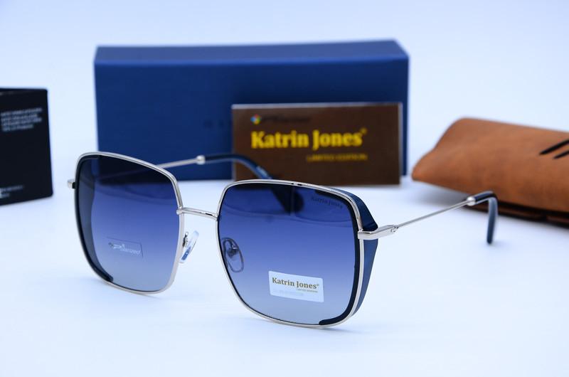 Жіночі сонцезахисні квадратні окуляри Katrine Jones 0852 c03-G21
