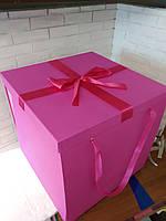 Коробка раскладушка для подарков сюрпризa или сладостей,. размер JUMBO