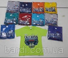 Футболка для хлопчика 3-7 різні малюнки