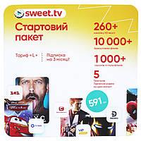 Sweet TV L на 3 месяца онлайн телевидение