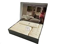 Набор полотенец Maison D'or Soft Hearts Ecru махровые 30-50 см,50-100 см,85-150 см кремовый
