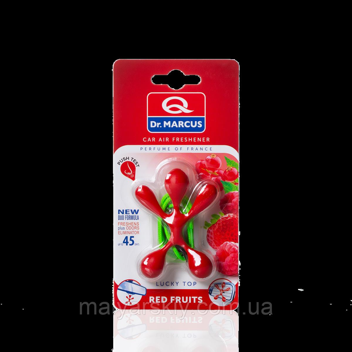 Освіжувач салону  Lucky Top Red Fruits (Червоні фрукти) Dr.Marcus