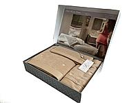 Набор полотенец Maison D'or Soft Hearts Beige махровые 30-50 см,50-100 см,85-150 см бежевый