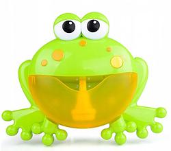 Игрушка для ванной Лягушка с мыльными пузырями