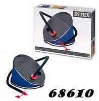 Intex 68610 Насос ножной 32 см ,5 л, жабка