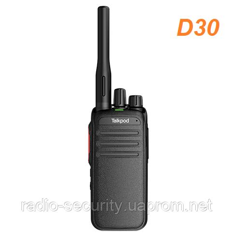 Радиостанция цифровая TALKPOD D30 DMR