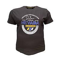 Чоловіча батальна футболка PoloPepe 12102 3XL 4XL 5XL 6XL чорна великі розміри Туреччина, фото 1
