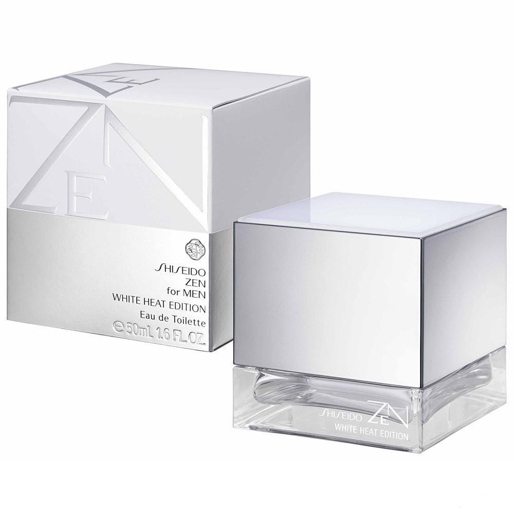Мужская туалетная вода, оригинал Shiseido Zen For Men White Heat Edition  50ml