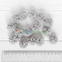 Помпон фатиновый СЕРЫЙ, 2.5 см, 1 шт