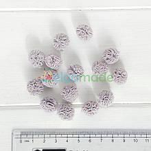 Помпон фатиновый СЕРЫЙ, 1.5 см, 1 шт