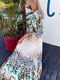 Женская длинная пляжная туника норма и батал, фото 2